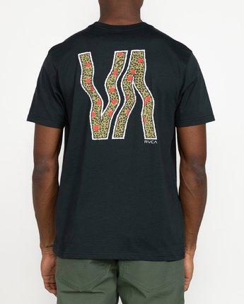 3 VA Vapor - T-Shirt for Men Black U1SSRURVF0 RVCA
