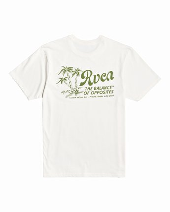 1 Tropical Disaster - T-Shirt for Men White U1SSSERVF0 RVCA