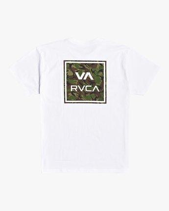 1 VA All The Way - T-Shirt for Men White U1SSSHRVF0 RVCA
