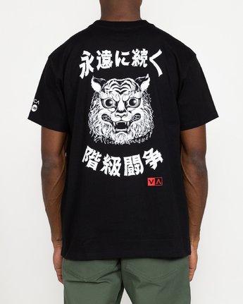 5 Tiger Stare - T-Shirt for Men Black U1SSSIRVF0 RVCA
