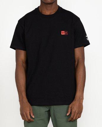 4 Tiger Stare - T-Shirt for Men Black U1SSSIRVF0 RVCA