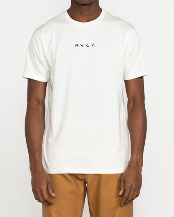 2 Johanna Olk - T-shirt pour Homme Blanc U1SSSMRVF0 RVCA
