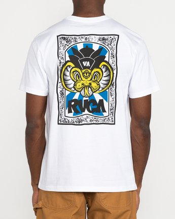 5 Roberto Rodriguez Redondo - T-Shirt for Men White U1SSSPRVF0 RVCA
