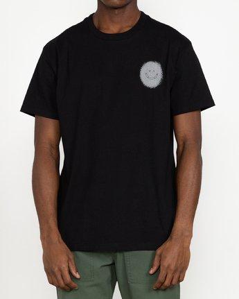 6 Benjamin JeanJean Skulls And Roses - T-Shirt for Men Black U1SSSSRVF0 RVCA