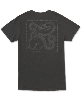 1 Bull Snake - T-Shirt for Men Black U1SSVDRVF0 RVCA