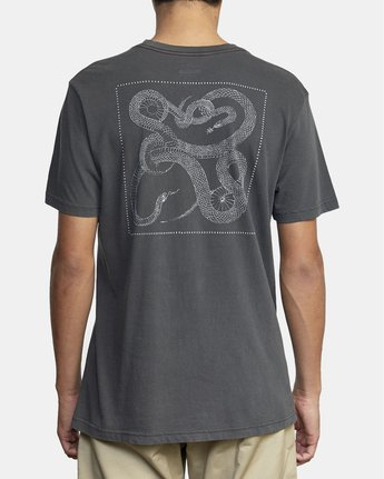5 Bull Snake - T-Shirt for Men Black U1SSVDRVF0 RVCA