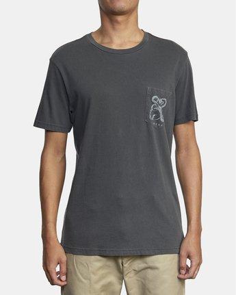 4 Bull Snake - T-Shirt for Men Black U1SSVDRVF0 RVCA
