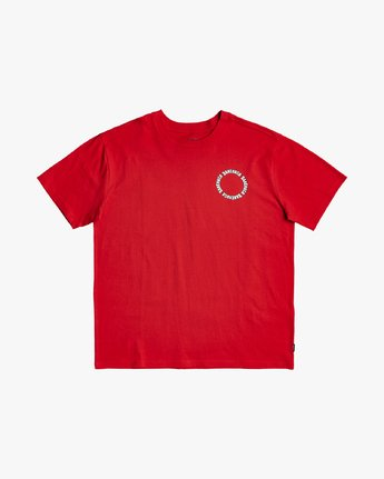 1 Baker RVCA - T-shirt pour Homme Rouge U1SSVGRVF0 RVCA