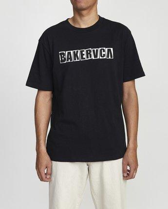 1 Baker Ransom - T-shirt pour Homme Noir U1SSVHRVF0 RVCA