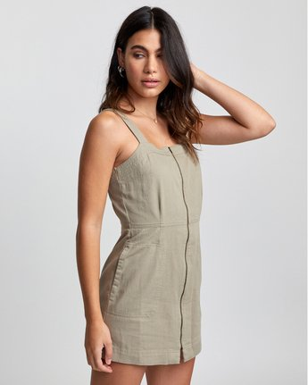 2 Emery - Dress for Women Green U3DRRIRVF0 RVCA
