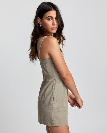 3 Emery - Dress for Women Green U3DRRIRVF0 RVCA