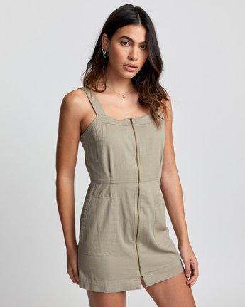 4 Emery - Dress for Women Green U3DRRIRVF0 RVCA