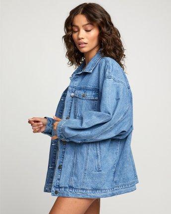 6 Stacey Rozich Lounger Denim - Veste en jean pour Femme Bleu U3JKRARVF0 RVCA