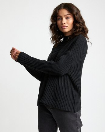 5 Arabella - Jumper for Women Black U3JPRHRVF0 RVCA