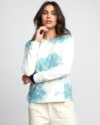 Big RVCA - Long Sleeve T-Shirt for Women  U3LSRARVF0