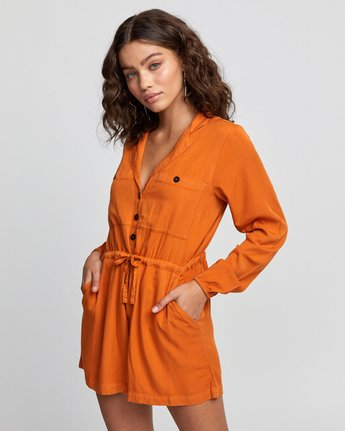 2 Desert Daze - Jumpsuit for Women Orange U3ONRDRVF0 RVCA