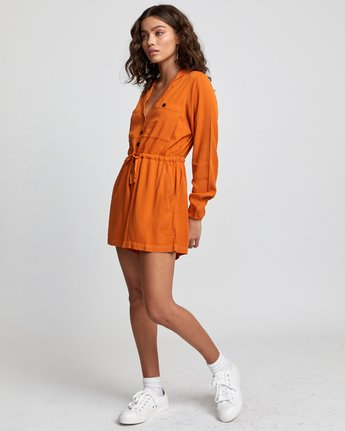 4 Desert Daze - Jumpsuit for Women Orange U3ONRDRVF0 RVCA