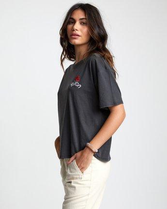 2 Petite Rose - T-Shirt for Women Black U3SSRBRVF0 RVCA