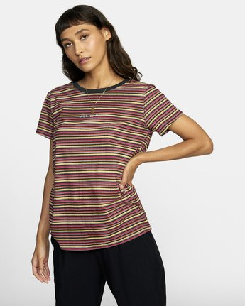 Ruff Stripe - T-Shirt for Women  U3SSRCRVF0