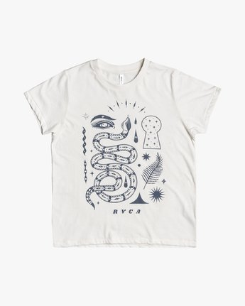 2 Jesse Brown - T-Shirt for Women White U3SSRTRVF0 RVCA