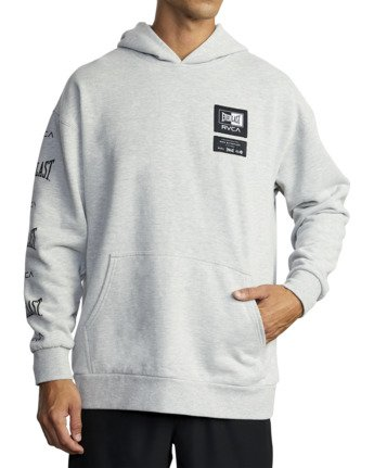 8 Everlast Sport - Hoodie for Men Grey U4HOEARVF0 RVCA