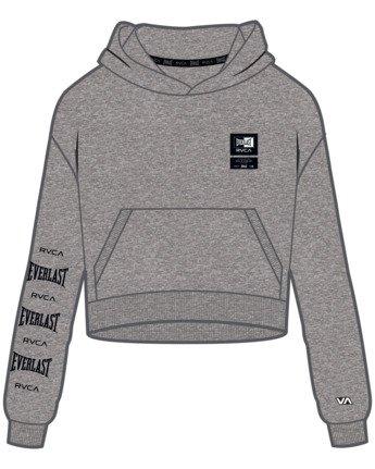 9 Everlast Sport - Hoodie for Women Grey U4HOEBRVF0 RVCA