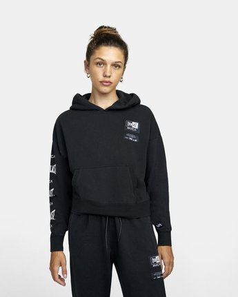 2 Everlast Sport - Hoodie for Women Black U4HOEBRVF0 RVCA