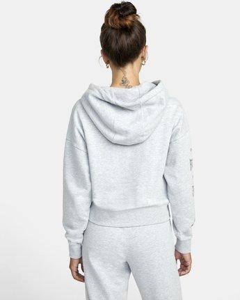 1 Everlast Sport - Hoodie for Women Grey U4HOEBRVF0 RVCA