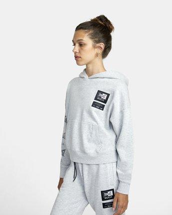 3 Everlast Sport - Hoodie for Women Grey U4HOEBRVF0 RVCA