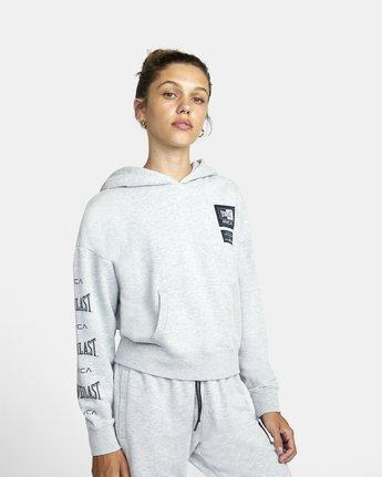 4 Everlast Sport - Hoodie for Women Grey U4HOEBRVF0 RVCA