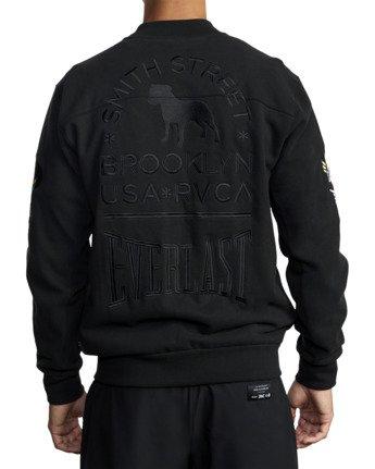 7 Everlast x Smith Street - Jacket for Men Black U4JKEARVF0 RVCA