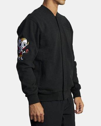 3 Everlast x Smith Street - Jacket for Men Black U4JKEARVF0 RVCA