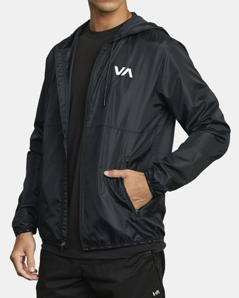 4 VA Sport Hexstop - Veste pour Homme Noir U4JKMCRVF0 RVCA