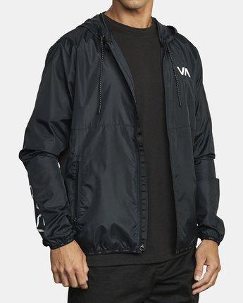 5 VA Sport Hexstop - Veste pour Homme Noir U4JKMCRVF0 RVCA
