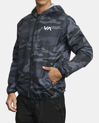 2 VA Sport Hexstop - Veste pour Homme Camo U4JKMCRVF0 RVCA