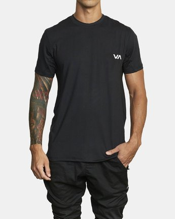 VA Sport Vent - Short Sleeve Top for Men  U4KTMARVF0