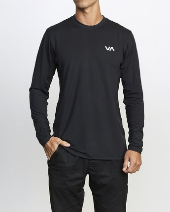 VA Sport Vent - Long Sleeve Top for Men  U4KTMCRVF0