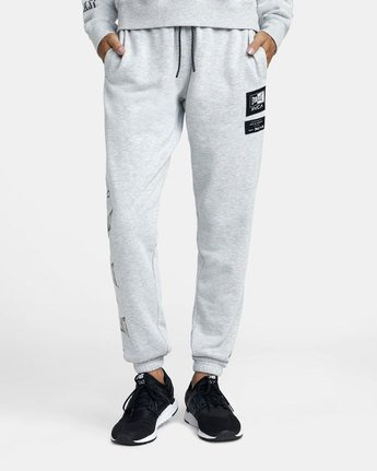 0 Everlast Sport - Joggers for Women Grey U4PTEBRVF0 RVCA