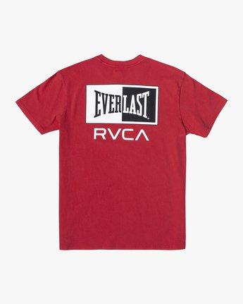 3 Everlast Stack - T-Shirt for Men Red U4SSEARVF0 RVCA