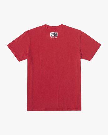 3 Everlast Box - T-shirt pour Homme Rouge U4SSEBRVF0 RVCA