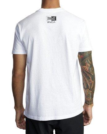 8 Everlast Box - T-Shirt for Men White U4SSEBRVF0 RVCA