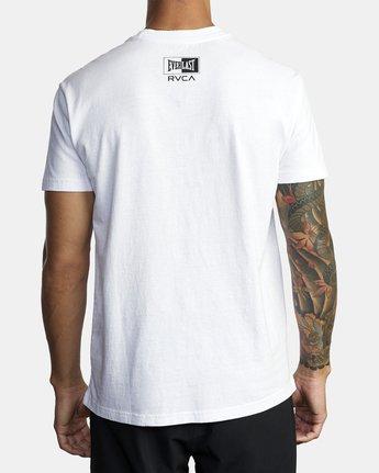 5 Everlast Box - T-Shirt for Men White U4SSEBRVF0 RVCA