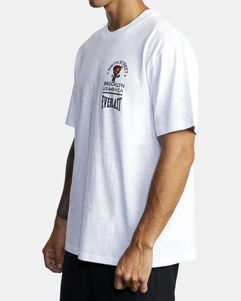 3 Everlast x Smith Street Big Angel - T-Shirt for Men White U4SSECRVF0 RVCA