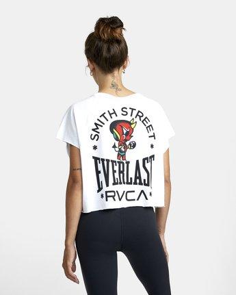 1 Everlast x Smith Street Raglan - Tank for Women White U4TPECRVF0 RVCA