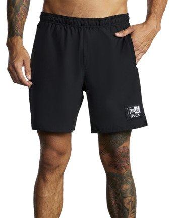 "8 Everlast Yogger IV 17"" - Workout Shorts for Men Black U4WKEARVF0 RVCA"