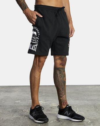 7 Everlast x Smith Street - Workout Shorts for Men Black U4WKECRVF0 RVCA