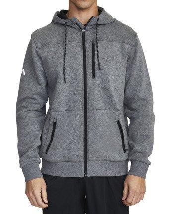 4 VA Sport Tech - Hoodie for Men Grey U4ZHMBRVF0 RVCA