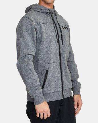 3 VA Sport Tech - Hoodie for Men Grey U4ZHMBRVF0 RVCA