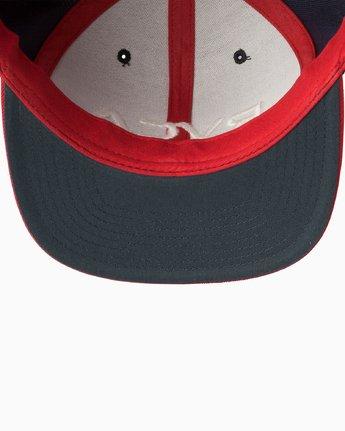 2 RVCA Twill III - Snapback Cap for Men Blau U5CPRSRVF5 RVCA