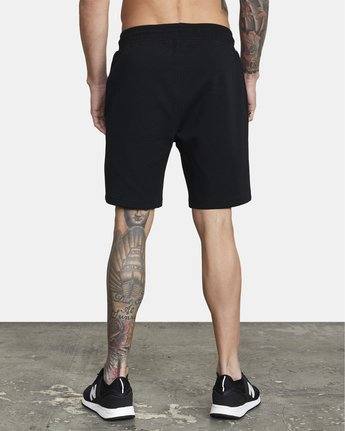 3 SPORT TECH SWEATSHORT Black V2013RSH RVCA